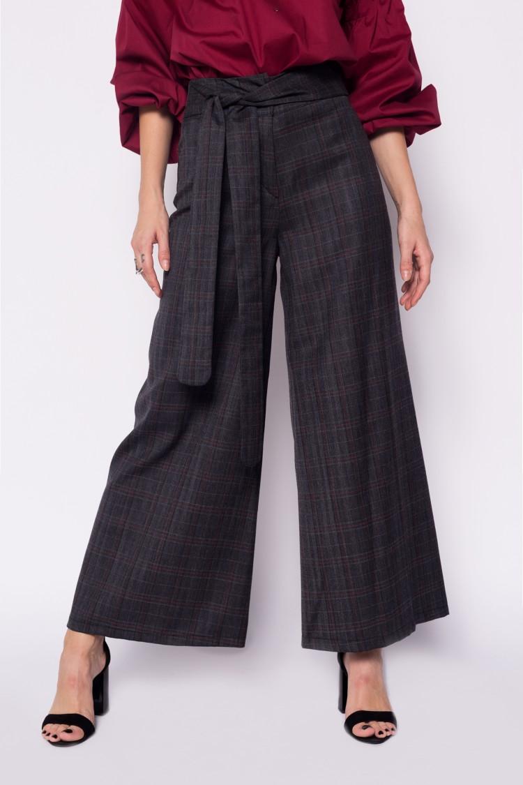 Pantaloni Culottes din lana