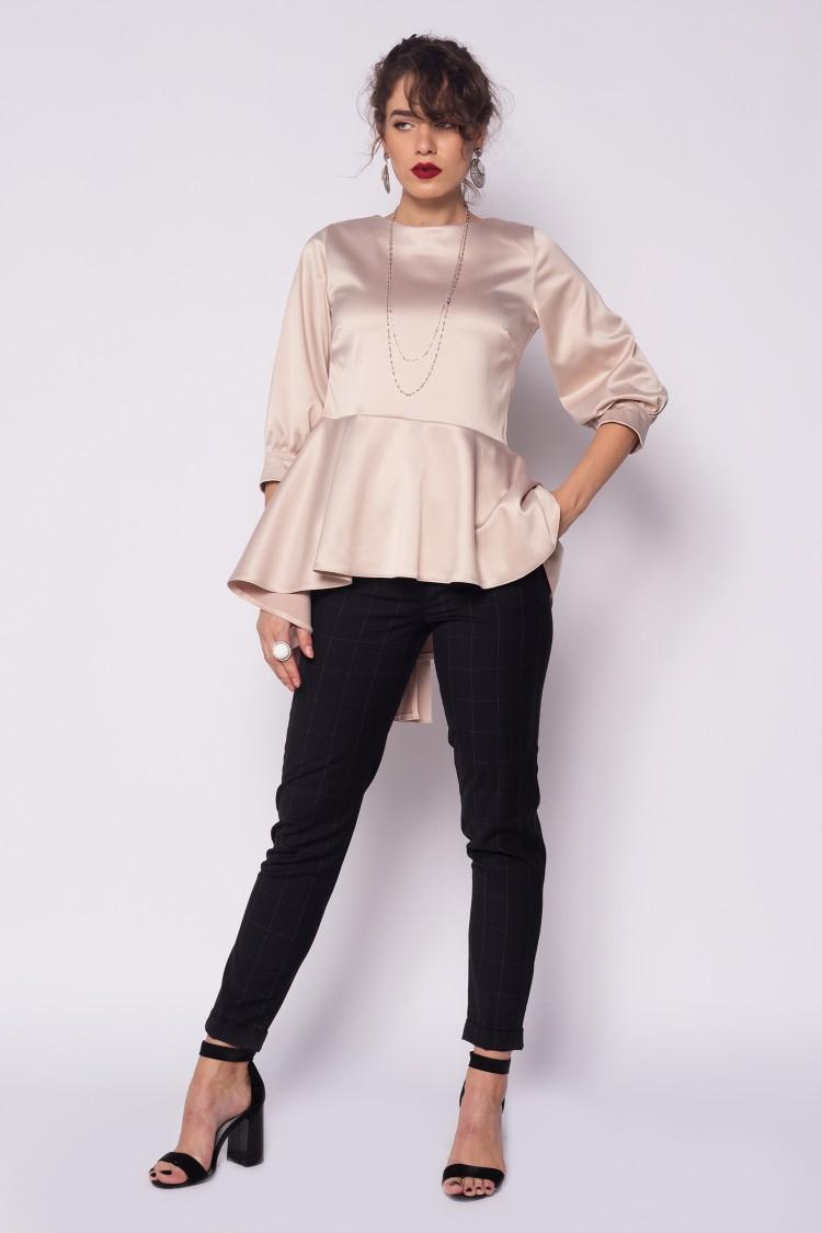 Pantaloni din stofa cu design british